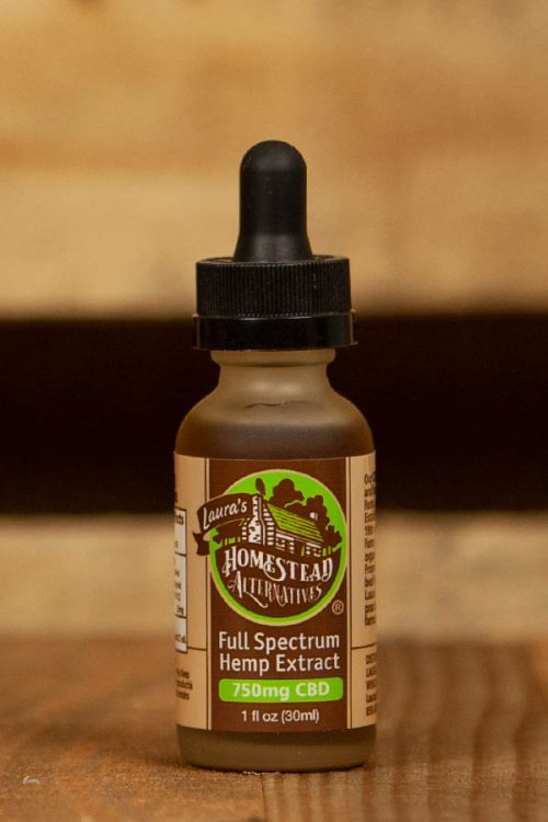 Full Spectrum CBD Oil Extract 750mg