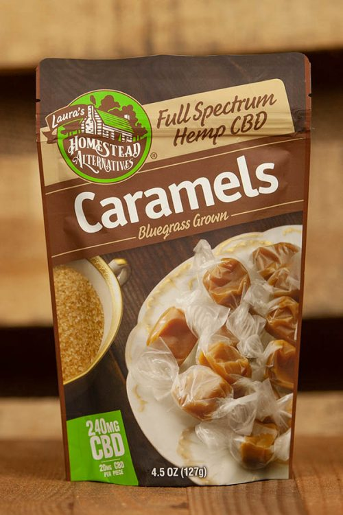 Full Spectrum CBD Oil Sweets Caramels 240mg 12 Pack