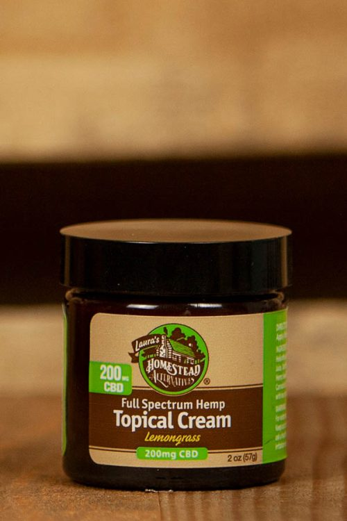 Full Spectrum CBD Oil Topical Cream 200mg