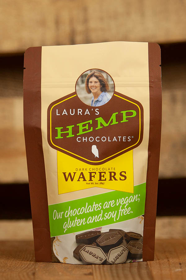 Laura's Mercantile Laura's Hemp Chocolates Wafers