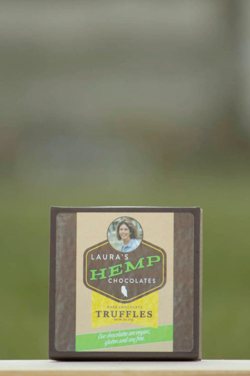 Laura's Mercantile Hemp Chocolate Truffles