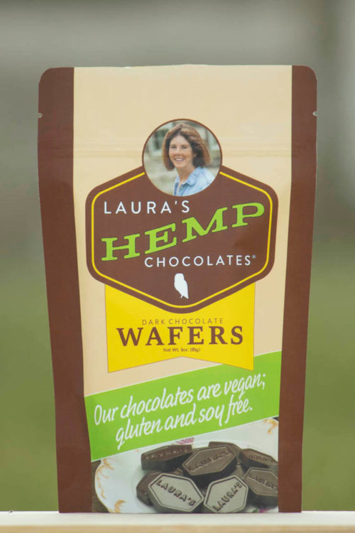 Laura's Mercantile Hemp Chocolates Vegan Wafers