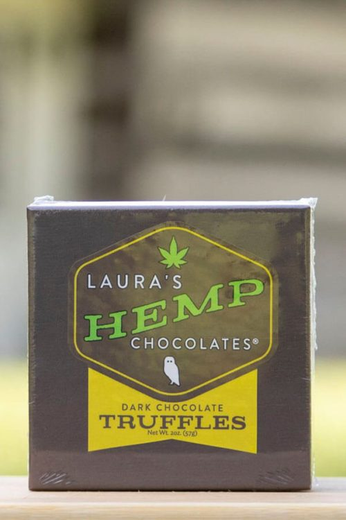 Laura's Hemp Dark Chocolate Truffles