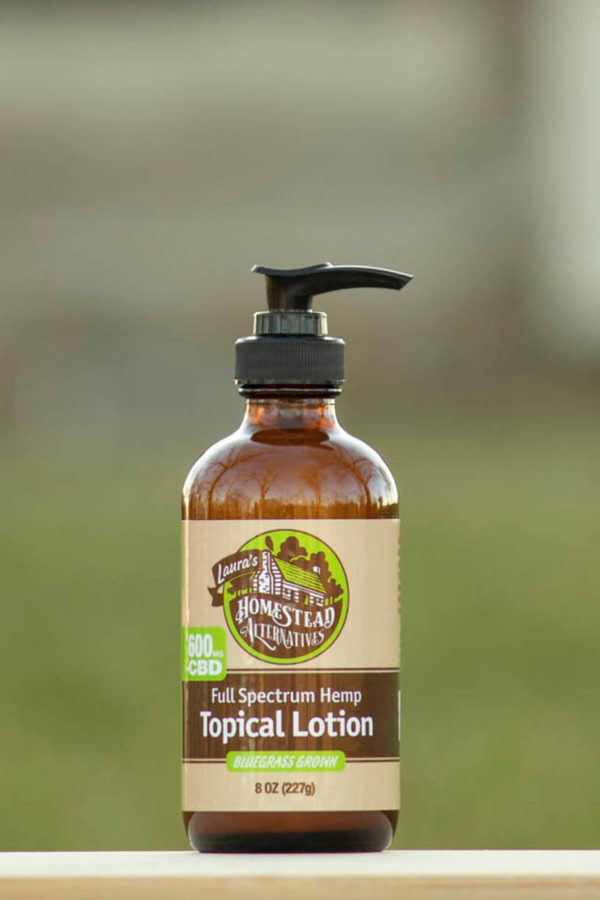 Full Spectrum CBD Oil Topical Lotion
