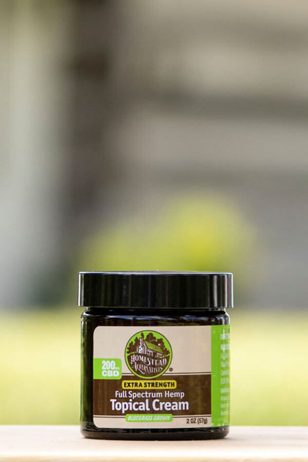 Full Spectrum CBD Topical Cream for Joint Pain and Muscle Soreness Relief