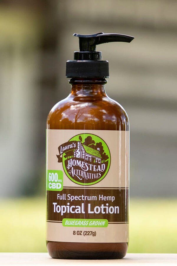 CBD Topical Lotion for Joint Pain and Muscle Soreness