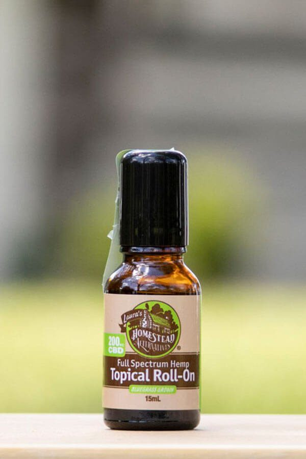 Full Spectrum Hemp CBD Roll-on Topical for Natural Joint Pain and Headache Relief