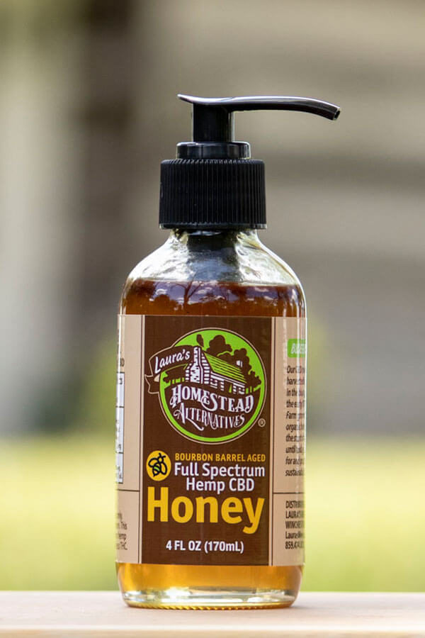 Homestead Alternatives Full Spectrum CBD Honey (300mg CBD)