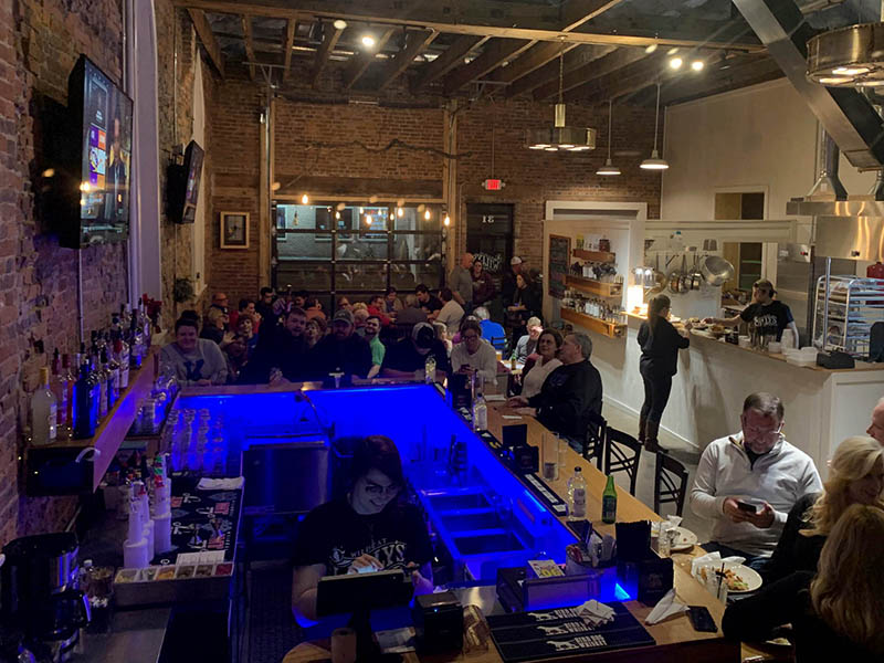 Wildcat Willy's Distillery Liberty Farm to table Restaurant and Bar