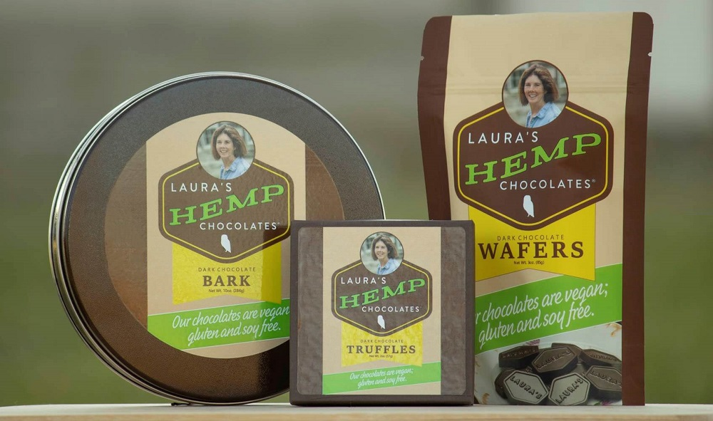 Laura's Hemp Chocolates - Plant Based Protein
