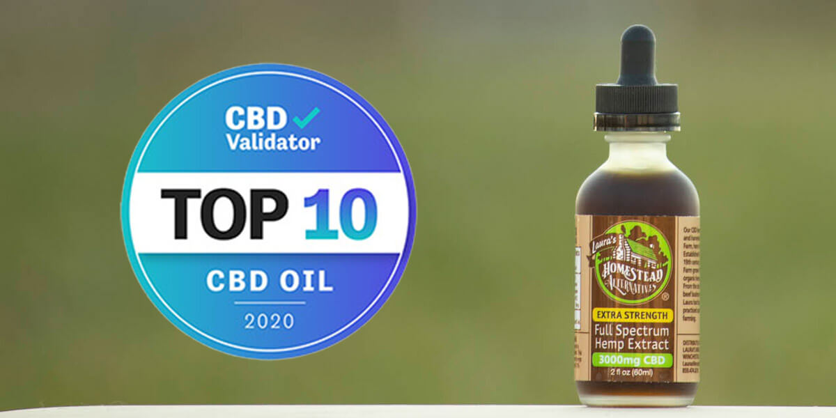 Homestead Alternatives Full Spectrum CBD Oil - Top CBD Oil from CBD Validator