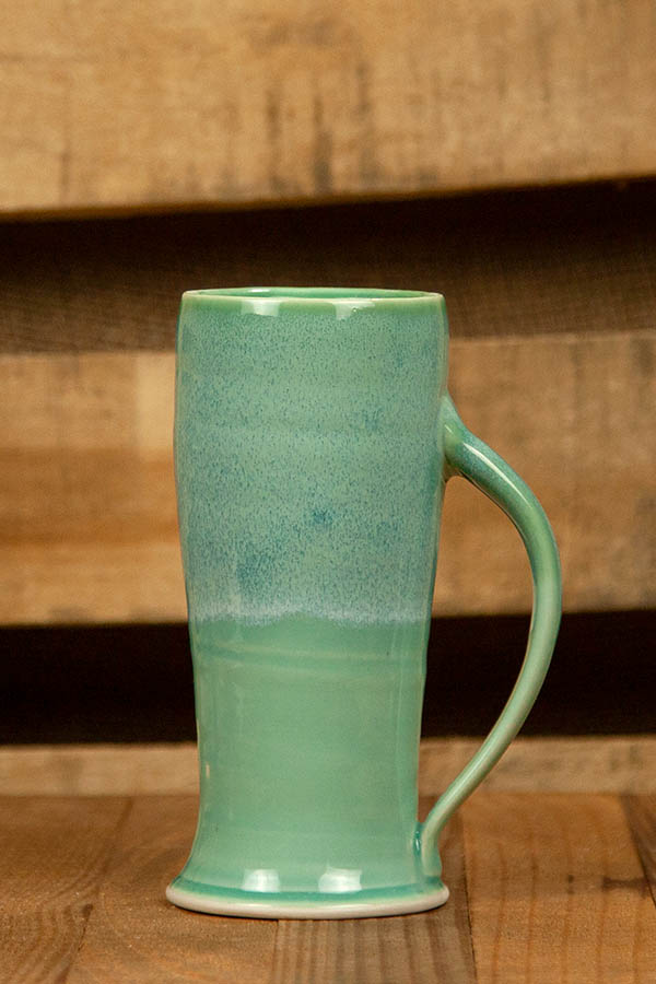 Dirty South Pottery Hand Thrown Porcelain Clay Color Ocean Jade