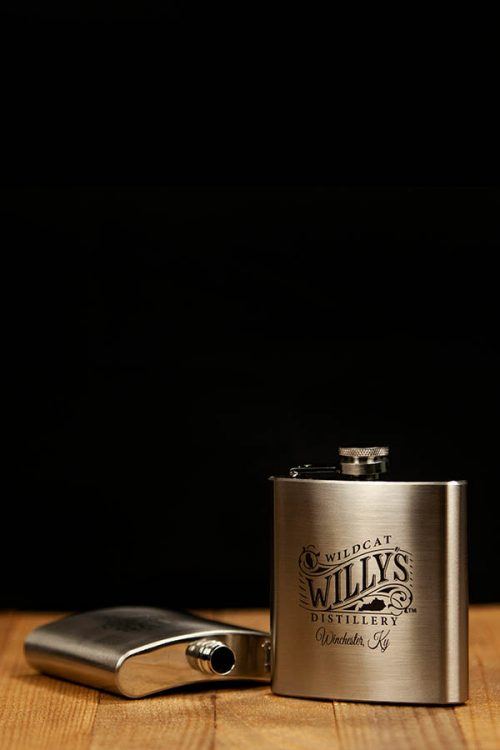 Wildcat Willy's Distillery 6 oz Flask